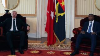 Cumhurbaşkanı Erdoğan, Angola Cumhurbaşkanı Lourenço ile ortak basın toplantısı düzenledi