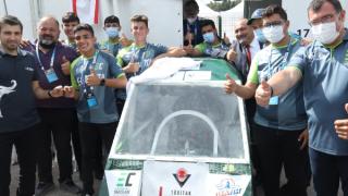 Elektrikli araç yarışlarında final coşkusu yaşandı