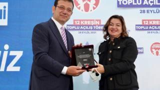 İmamoğlu: 'Çılgın projemiz; Yuvamız İstanbul'