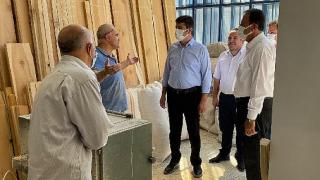 Milletvekili Tutdere, zor günler geçiren mobilya sektörüne Kahta'da kulak verdi
