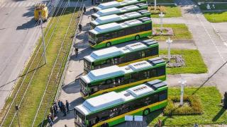 Otokar'dan Ukrayna'ya doğalgazlı KENT teslimatı