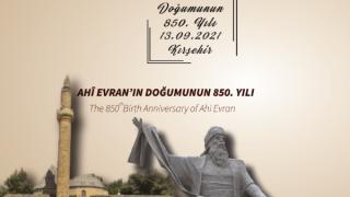 """PTT'den """"Ahi Evran'ın doğumunun 850.yılı"""" konulu özel gün zarfı"""