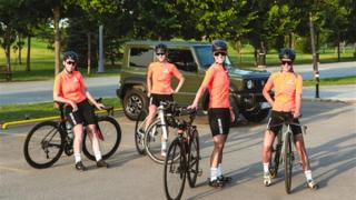 Suzuki Kadın Bisiklet Takımı 24 saat yarışında yerini alıyor