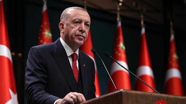 Cumhurbaşkanı Erdoğan, ABD ziyareti öncesi basın toplantısı düzenledi