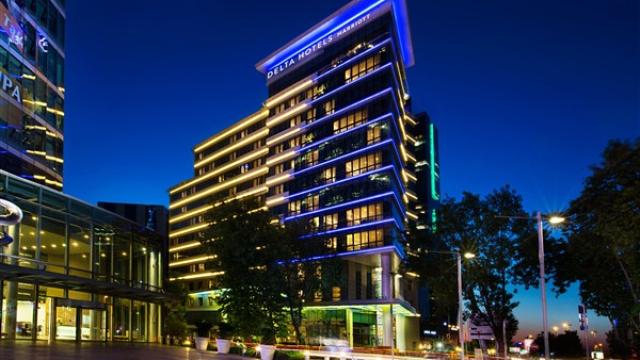 Marriott Grubun İstanbul'daki en yeni oteli Delta Hotels, İstanbul'un kalbinde kapılarını misafirlerine açıyor