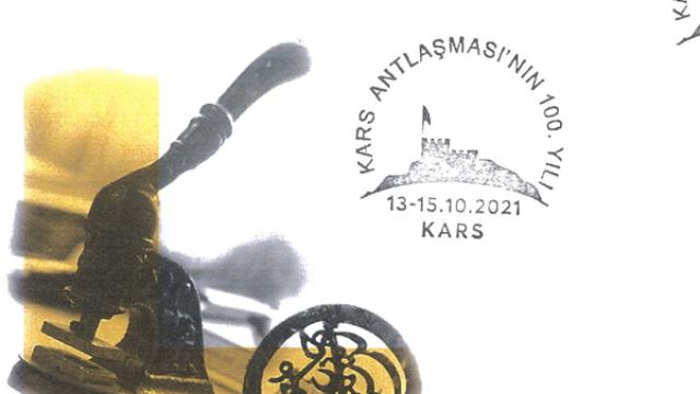 """PTT'den """"Kars Antlaşması'nın 100. yılı"""" konulu pul sergisi"""