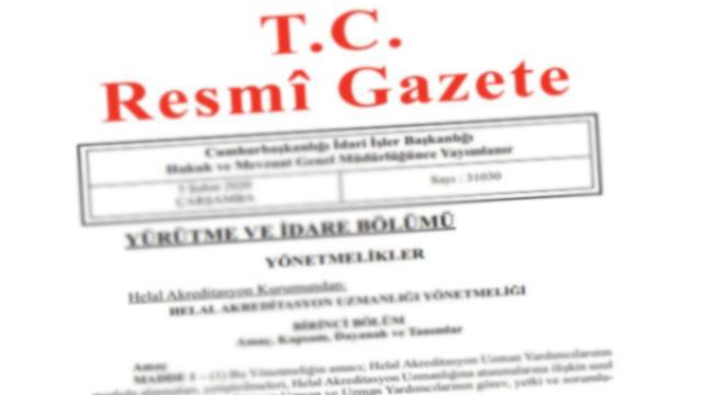 Resmi Gazete başlıkları 13 Ekim 2021