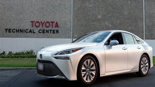 Toyota Mirai Guinness Dünya Rekoru'nu kırdı