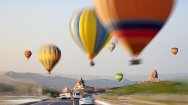 Turizm cenneti Nevşehir'e ZES'le kesintisiz seyahat